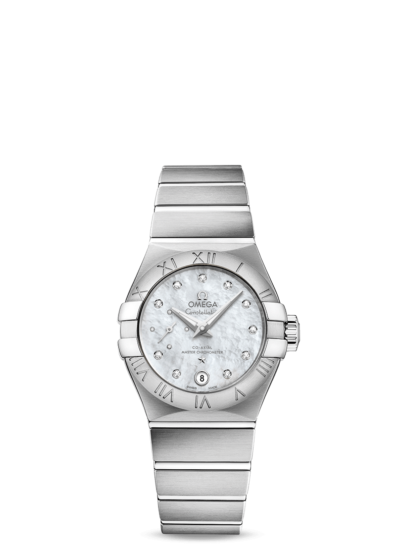 Omega Constellation  Co Axial Master Chronometer Small Seconds 27mm - 127.10.27.20.55.001