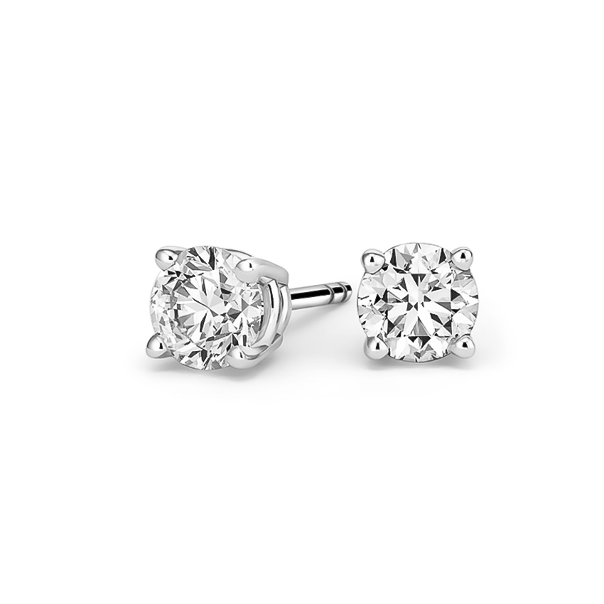 Radiance Collection 2.00ct tw. Diamond Stud Earrings | 18K White Gold