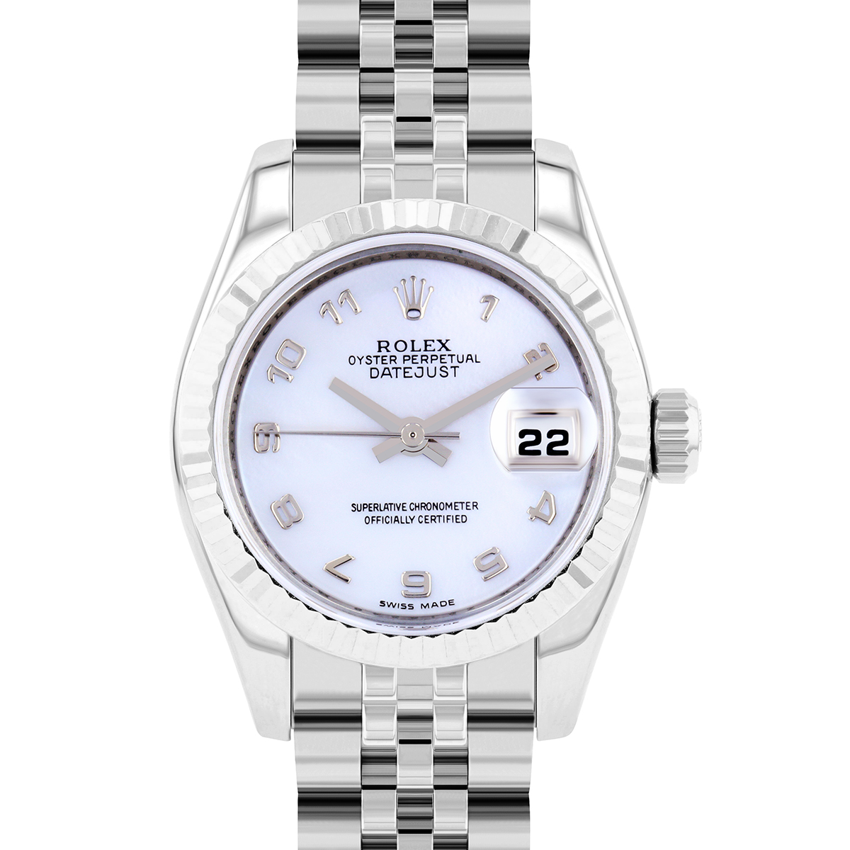 Rolex Datejust 26MM Mother of Pearl Roman Dial | 179174 - 2007