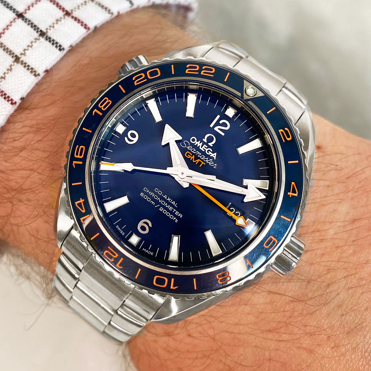 Omega Planet Ocean 600m GMT Automatic   23230442203001   2017