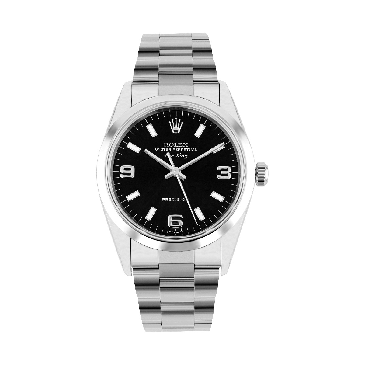 Rolex Oyster Perpetual 31MM Black Quarter Arabic Non Date Oyster | 77080 -2000