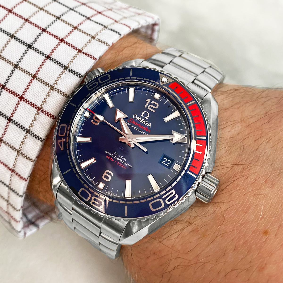 Omega Planet Ocean Olympic Limited Edition
