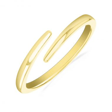 New York Collection Gold Wrap Ring   9K Yellow Gold