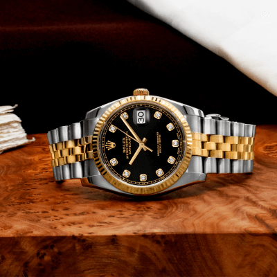 The draw of Pre-Owned Rolex